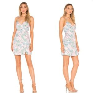 Majorelle Nina Dress in Pink Tropical